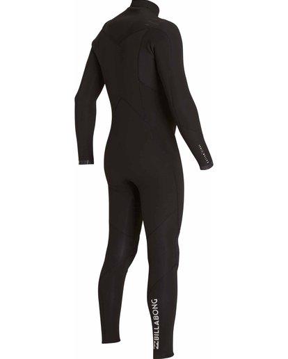 9 3/2 Absolute Chest Zip Fullsuit Black MWFULAC3 Billabong