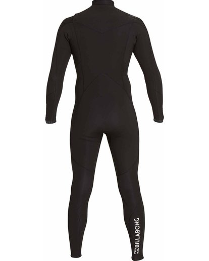 1 4/3 Absolute Comp Chest Zip Fullsuit Black MWFULAC4 Billabong