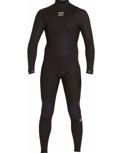 0 4/3 Absolute Comp Chest Zip Fullsuit Black MWFULAC4 Billabong