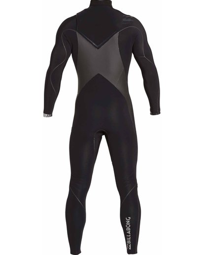 4 3/2 Furnace Carbon X Chest Zip Wetsuit Black MWFULCX3 Billabong