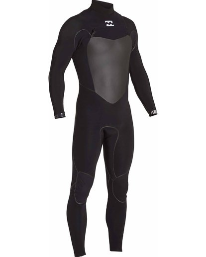 2 3/2 Furnace Carbon X Chest Zip Wetsuit Black MWFULCX3 Billabong