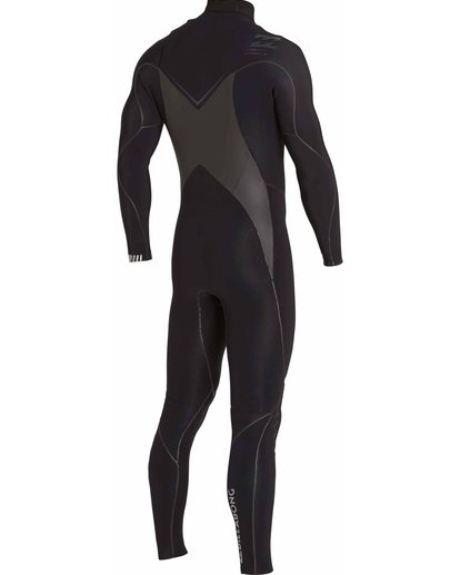 3 3/2 Furnace Carbon X Chest Zip Wetsuit Black MWFULCX3 Billabong