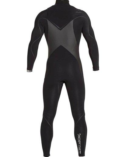 4 4/3 Furnace Carbon X Chest Zip Fullsuit Black MWFULCX4 Billabong