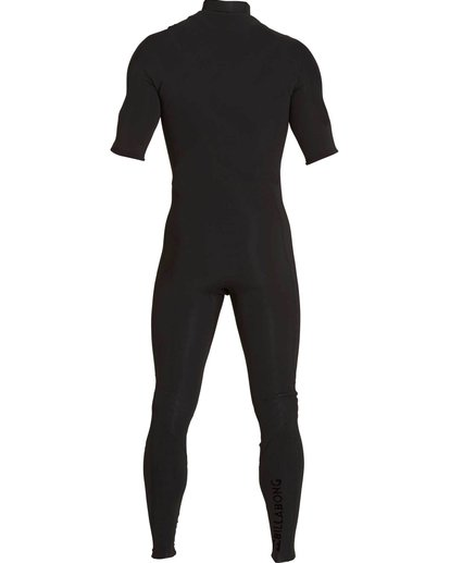 3 2/2 Furnace Carbon Comp Short Sleeve Fullsuit Black MWFULFC2 Billabong