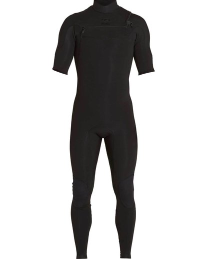 1 2/2 Furnace Carbon Comp Short Sleeve Fullsuit Black MWFULFC2 Billabong