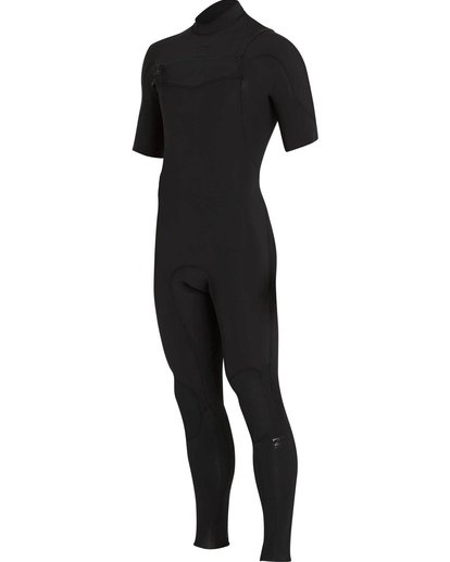 0 2/2 Furnace Carbon Comp Short Sleeve Fullsuit Black MWFULFC2 Billabong