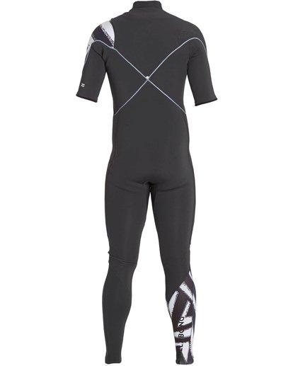 4 2/2 Furnace Carbon Comp Short Sleeve Fullsuit Black MWFULFC2 Billabong