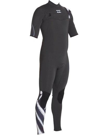 2 2/2 Furnace Carbon Comp Short Sleeve Fullsuit Black MWFULFC2 Billabong