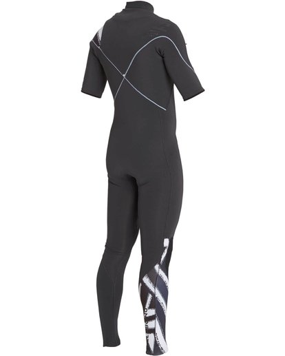 3 2/2 Furnace Carbon Comp Short Sleeve Fullsuit Black MWFULFC2 Billabong