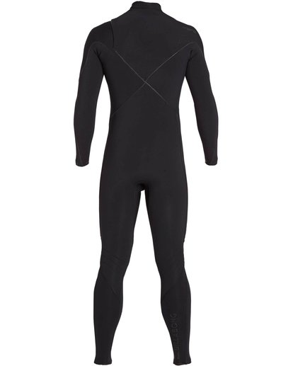 1 3/2 Furnace Carbon Comp Chest Zip Fullsuit Black MWFULFC3 Billabong