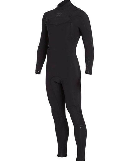 2 3/2 Furnace Carbon Comp Chest Zip Fullsuit Black MWFULFC3 Billabong