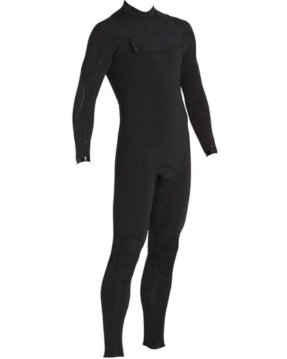 3 3/2 Furnace Carbon Comp Chest Zip Fullsuit Black MWFULFC3 Billabong