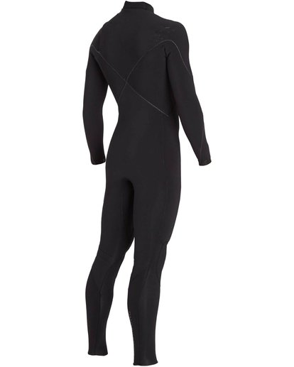 4 3/2 Furnace Carbon Comp Chest Zip Fullsuit Black MWFULFC3 Billabong