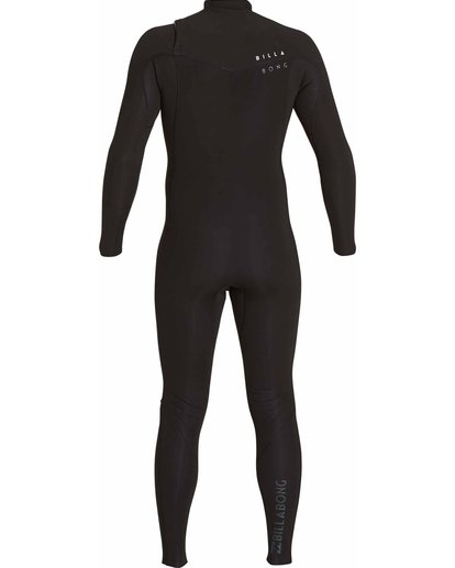 1 3/2 Revolution Tribong Chest Zip Fullsuit Black MWFULRC3 Billabong