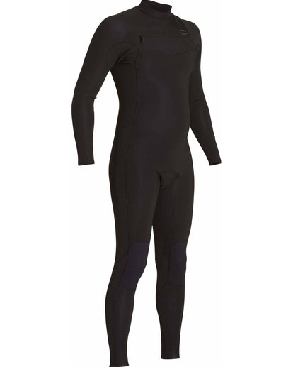 5 3/2 Revolution Tribong Chest Zip Fullsuit Black MWFULRC3 Billabong