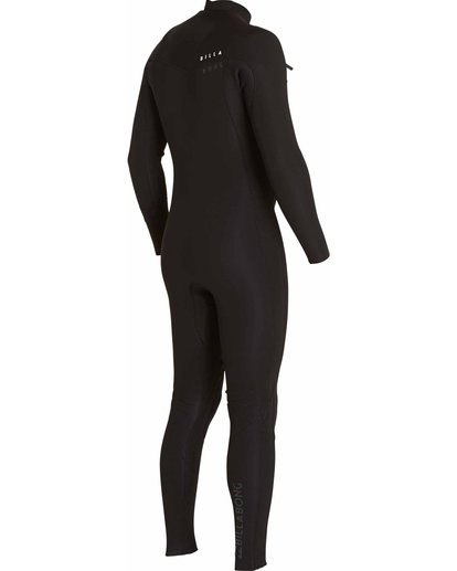 6 3/2 Revolution Tribong Chest Zip Fullsuit Black MWFULRC3 Billabong