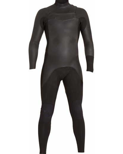 0 3/2 Revolution Glide Chest Zip Fullsuit Black MWFULRG3 Billabong