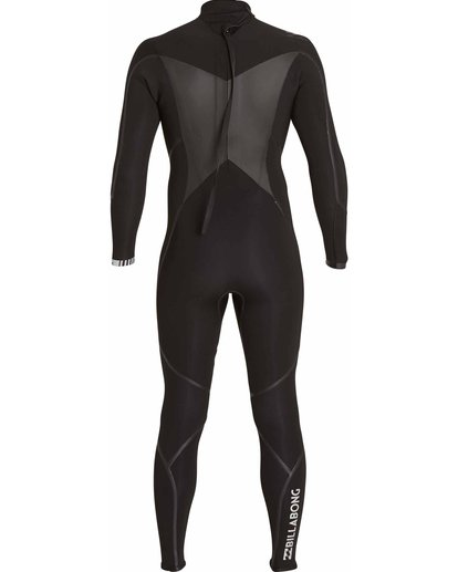 1 3/2 Absolute X Back Zip Fullsuit Black MWFULXB3 Billabong