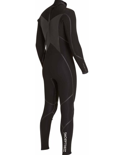 4 3/2 Absolute X Back Zip Fullsuit Black MWFULXB3 Billabong