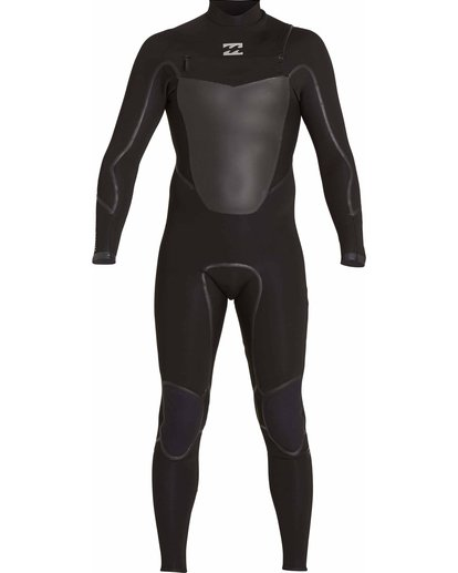1 3/2 Absolute X Chest Zip Fullsuit Black MWFULXC3 Billabong