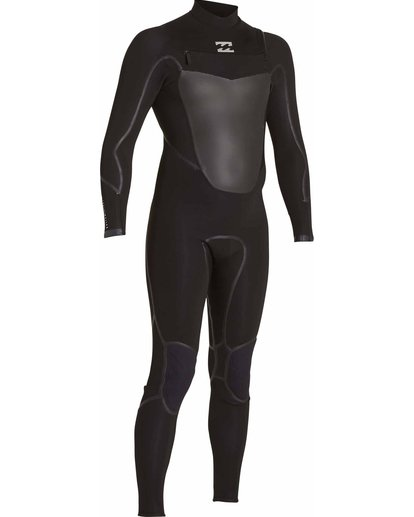 3 3/2 Absolute X Chest Zip Fullsuit Black MWFULXC3 Billabong