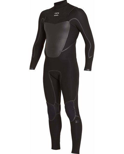 2 4/3 Absolute X Chest Zip Fullsuit Black MWFULXC4 Billabong