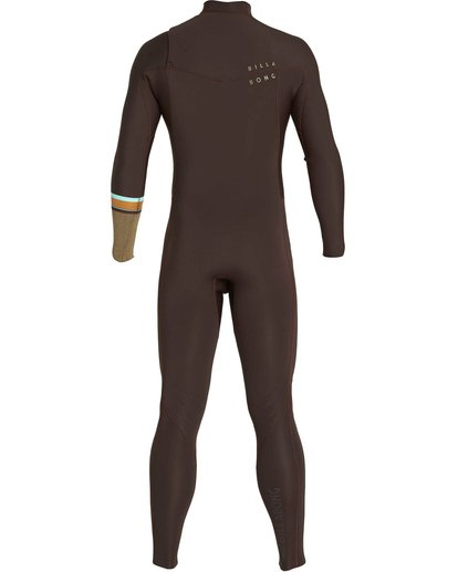 1 3/2 Revolution DBah Chest Zip Fullsuit Brown MWFUNBR3 Billabong