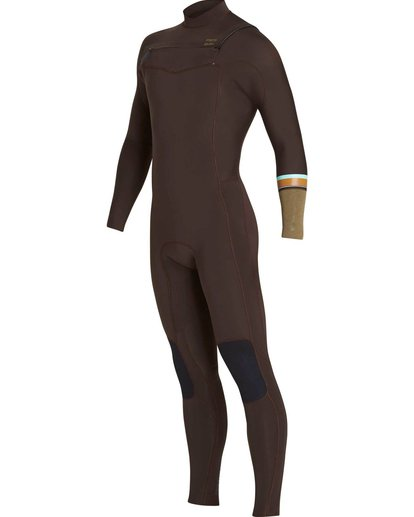 2 3/2 Revolution DBah Chest Zip Fullsuit Brown MWFUNBR3 Billabong