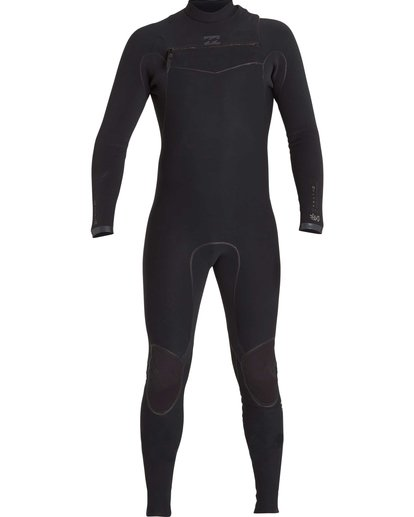 1 2/2 Furnace Carbon Ultra Chest Zip Fullsuit Black MWFUNBU2 Billabong