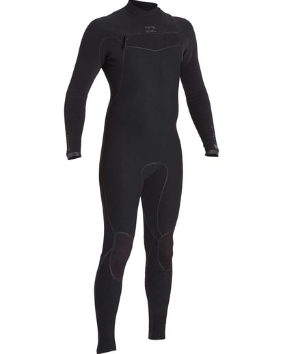 2 2/2 Furnace Carbon Ultra Chest Zip Fullsuit Black MWFUNBU2 Billabong