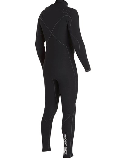 4 2/2 Furnace Carbon Ultra Chest Zip Fullsuit Black MWFUNBU2 Billabong