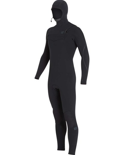 0 4/3 Furnace Carbon Hooded Chestzip Black MWFUQBH4 Billabong