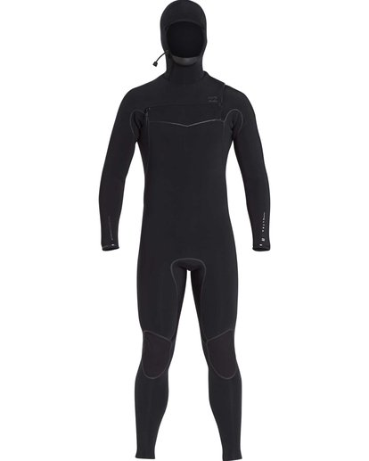 1 6/5 Furnace Carbon Ultra Hooded Black MWFUQBH6 Billabong