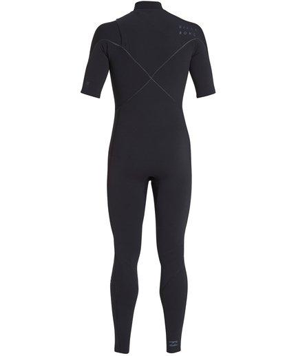 4 2/2 Furnace Carbon Comp Short Sleeve Fullsuit Black MWFUQBN2 Billabong
