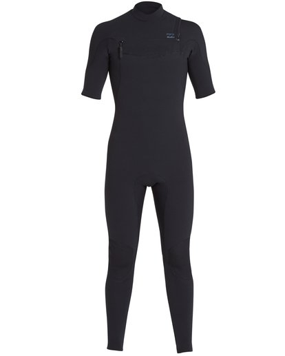 1 2/2 Furnace Carbon Comp Short Sleeve Fullsuit Black MWFUQBN2 Billabong