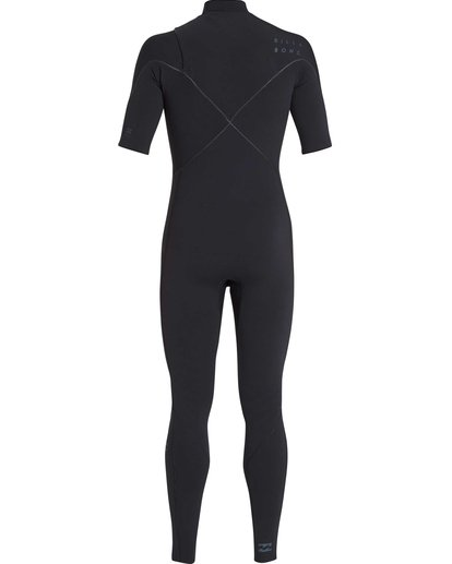 1 2/2 Furnace Carbon Comp Short Sleeve Fullsuit Black MWFUQBN2 Billabong