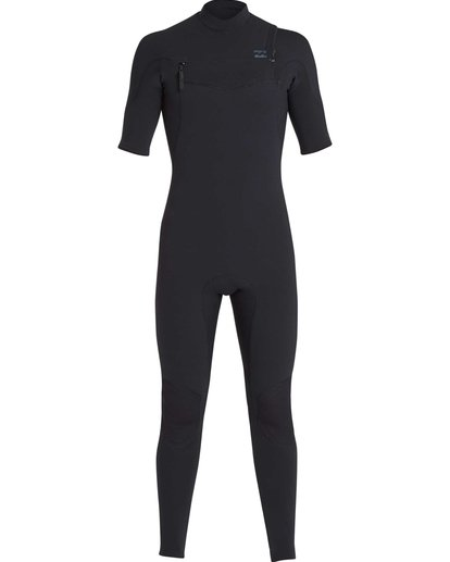 0 2/2 Furnace Carbon Comp Short Sleeve Fullsuit Black MWFUQBN2 Billabong