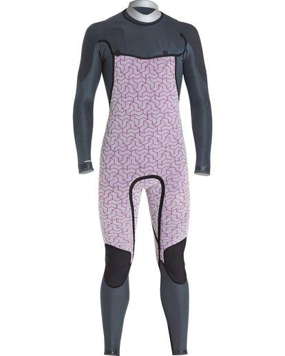6 2/2 Furnace Carbon Comp Short Sleeve Fullsuit Black MWFUQBN2 Billabong
