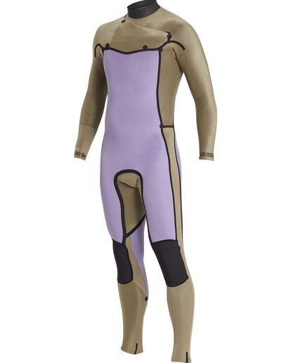 1 2/2 Furnace Revolution Chestzip Short Sleeve Green MWFUQBV2 Billabong
