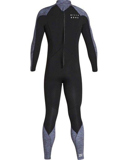 4 3/2 Furnace Absolute Back Zip GBS Long Sleeve Fullsuit Grey MWFUTBA3 Billabong