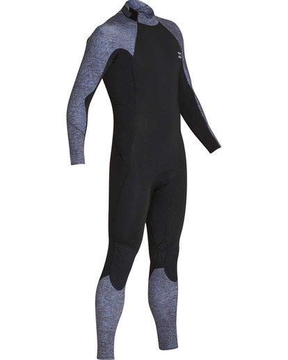 2 3/2 Furnace Absolute Back Zip GBS Long Sleeve Fullsuit Grey MWFUTBA3 Billabong