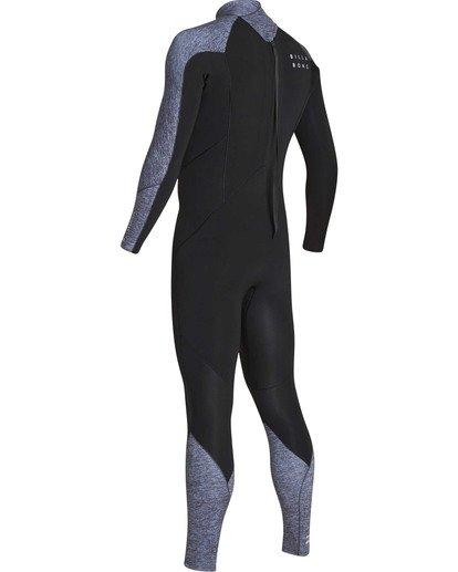 5 3/2 Furnace Absolute Back Zip GBS Long Sleeve Fullsuit Grey MWFUTBA3 Billabong