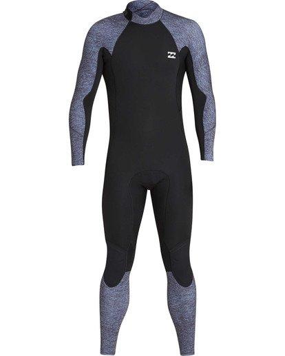 1 3/2 Furnace Absolute Back Zip GBS Long Sleeve Fullsuit Grey MWFUTBA3 Billabong