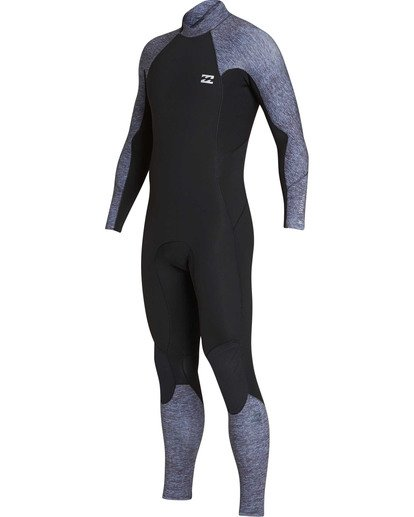 0 3/2 Furnace Absolute Back Zip GBS Long Sleeve Fullsuit Grey MWFUTBA3 Billabong