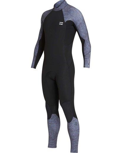 0 4/3 Furnace Absolute Back Zip GBS Long Sleeve Fullsuit Grey MWFUTBA4 Billabong