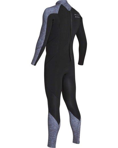 3 4/3 Furnace Absolute Back Zip GBS Long Sleeve Fullsuit Grey MWFUTBA4 Billabong