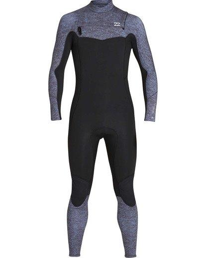 1 4/3 Furnace Absolute Back Zip GBS Long Sleeve Fullsuit Grey MWFUTBA4 Billabong