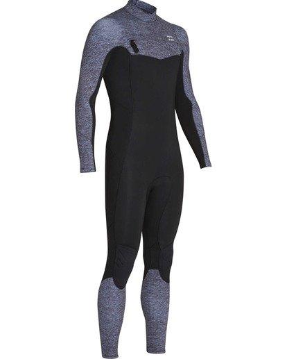 2 4/3 Furnace Absolute Back Zip GBS Long Sleeve Fullsuit Grey MWFUTBA4 Billabong