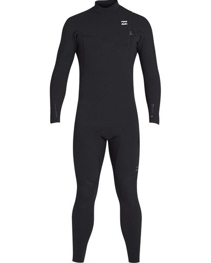 1 3/2 Furnace Pro Series Chest Zip Full GBS FulLong Sleeveuit Wetsuit Black MWFUTBP3 Billabong