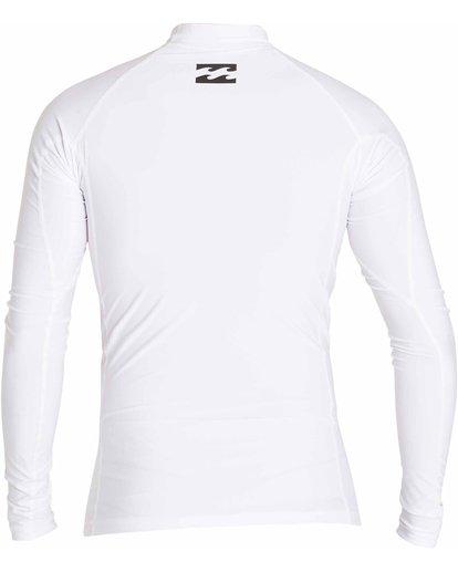 1 All Day Wave Long Sleeve Wetshirt White MWLYJICL Billabong